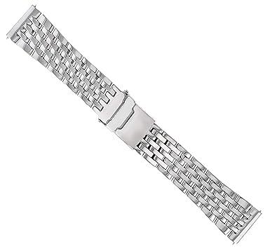 24mm Pilot Watch Band Bracelet For Breitling A24322 7 Link Navitimer
