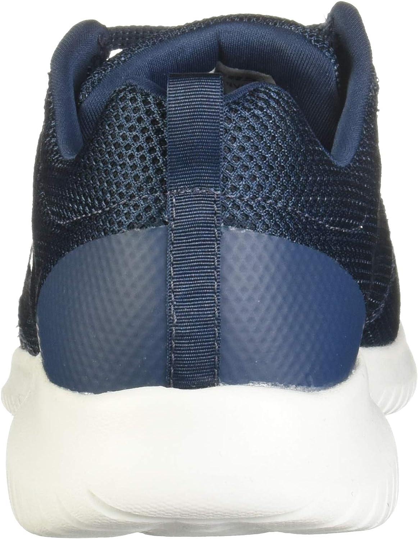 Skechers Ultra Flex -Free Spirits, Baskets Femme Bleu Marine