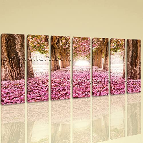 Amazon.com: Extra Large Spring Flowers Trees Floral Contemporary On ...