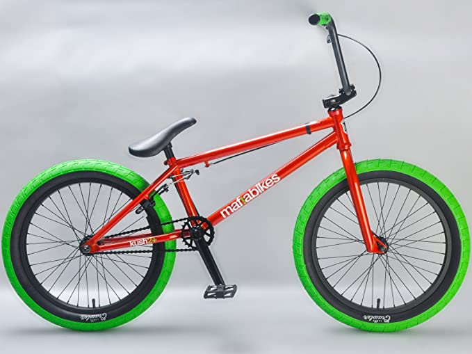 Mafiabikes Kush 2+ Bmx - Bicicleta, Color Rojo 50,8 Cm: Amazon.es: Deportes y aire libre