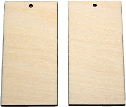2 mm Thick Unfinished Blank Wooden Slices DIY Craft Woodworking projects