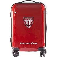 Athletic Club de Bilbao Maleta Equipaje de Mano - Producto Oficial del Equipo, Rígida y con Sistema de Cierre de…