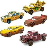 Disney Cars 3 Deluxe Die Cast Set Crazy 8 5-Piece 461023232692