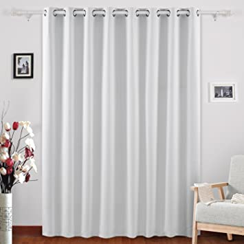 Amazon.com: Deconovo Blackout Curtains Thermal Insulated Wide ...