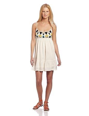 Rip Curl Juniors Global Glam Dress at Amazon Womens Clothing store: Dresses For Juniors
