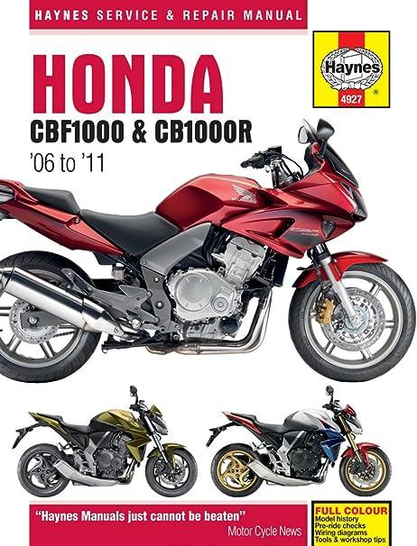 Cmpo Manuale Da Officina Haynes Per Honda Cbf1000 06 10 Cb1000r