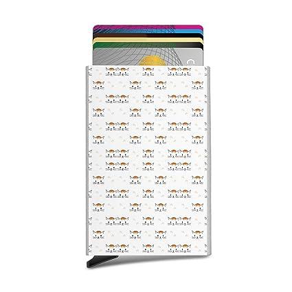 Tarjetero automático con diseño de gato y pata para tarjetas ...