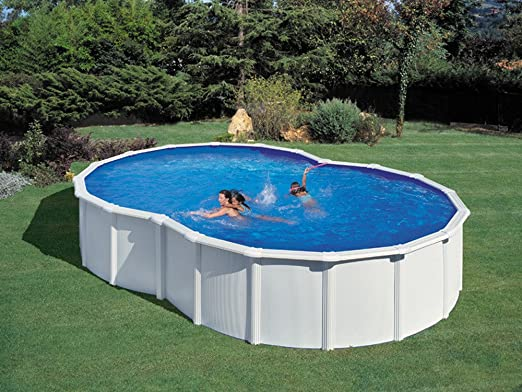 Gré – Kit piscina acero en 8 Varadero blanca – 5.00 x 3.40 X 1.20 ...