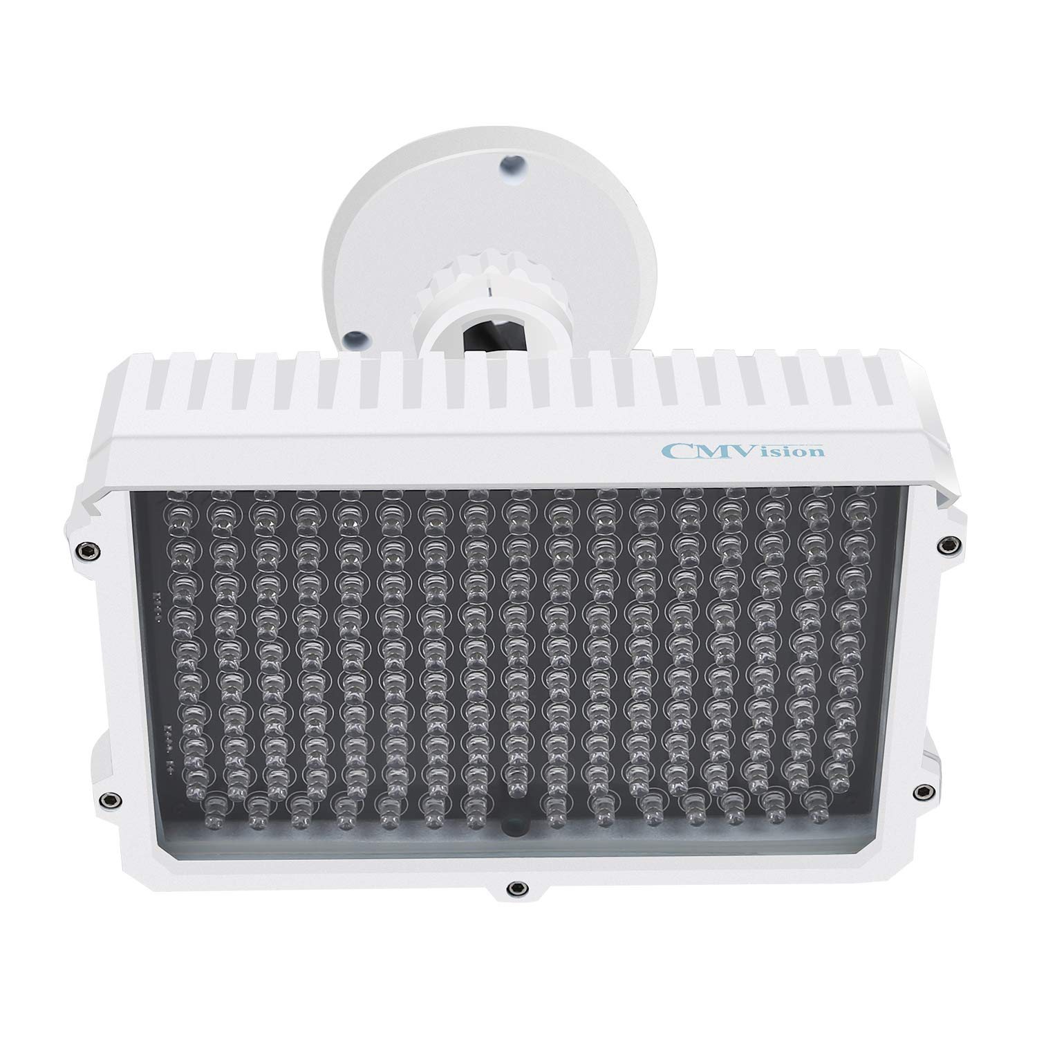 CMVision IR130-830NM - 198 LED Indoor/Outdoor Long Range 150 feet IR Illuminator with Free 3A 12VDC Power Adaptor (Special for photobiomodulation, Light Therapy Application) by CMVision (Image #2)