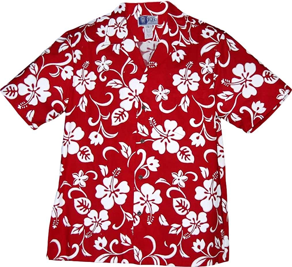 aa8e9bee Top Quality Flamingo Island Hawaiian Aloha Shirt, XL, PINK RJC ...