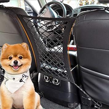 Car Mesh Pocket Durable Holder Dog Barrier Seat Back Container Net Purse Y2U9