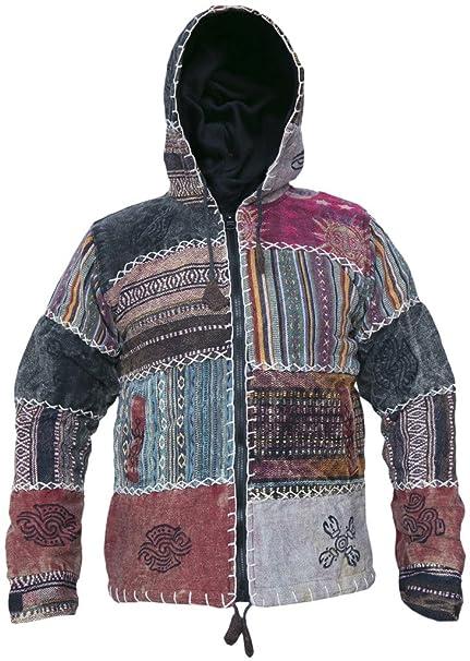 Little Kathmandu GHERI - chaqueta sudadera con capucha para hombres, de sol y luna,