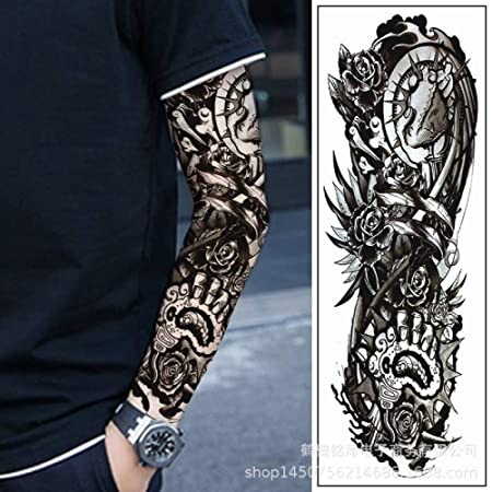 Modeganqing 3 Piezas Etiqueta engomada del Tatuaje del Brazo ...
