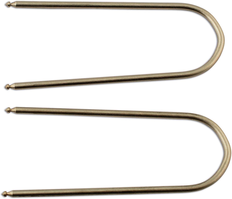 Laser 5554 - Juego de Herramientas para extracción de radios de Coche (2 Piezas)