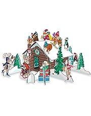 Roger la Borde Pop & Slot Chalet Snow Advent Calendar