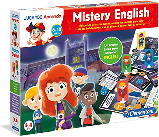 Clementoni- Jugando aprendo Mistery English 37x28, ãšnica (55227): Amazon.es: Juguetes y juegos