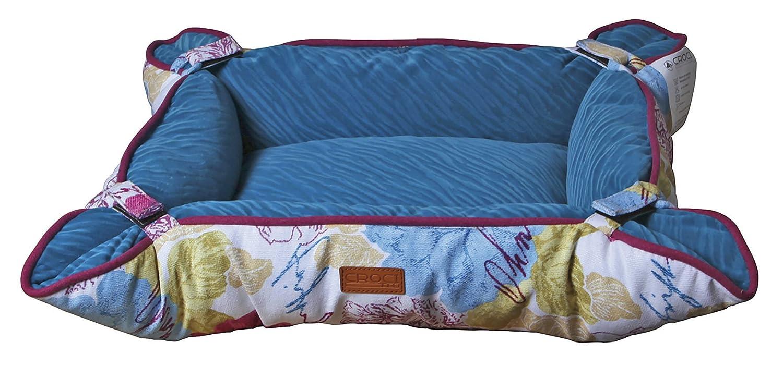 Cozy Flower 61 x 45.5 x 20 cm Cozy Flower 61 x 45.5 x 20 cm CROCI Basket Pet Bed, 61 x 45.5 x 20 cm, Cozy Flower
