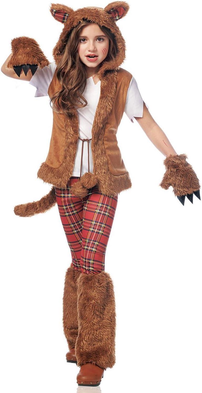 Werewolf Costume Girls Teen Tween Female Wear Wolf Small