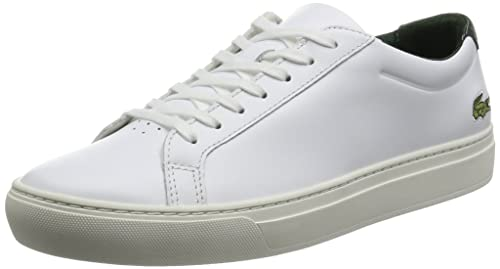 Lacoste L.12.12 117 2 Mens Trainers White Green - 10 UK