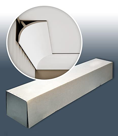 1 caja 6 piezas Cornisas Molduras Perfiles 12 m Orac Decor C991 LUXXUS