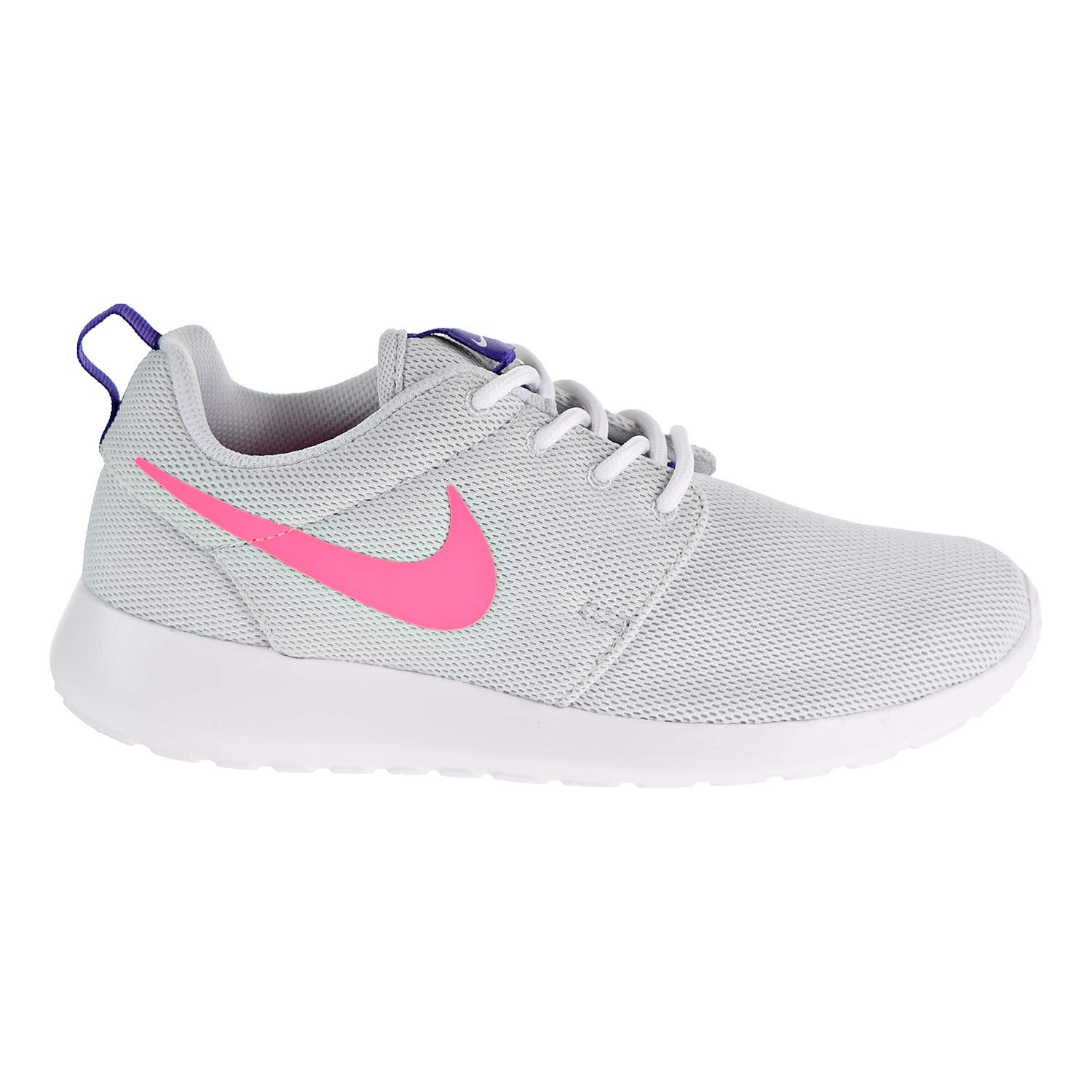 NIKE Roshe One Women's Shoes Pure PlatinumLaser Pink 844994 007 (6.5 B(M) US)