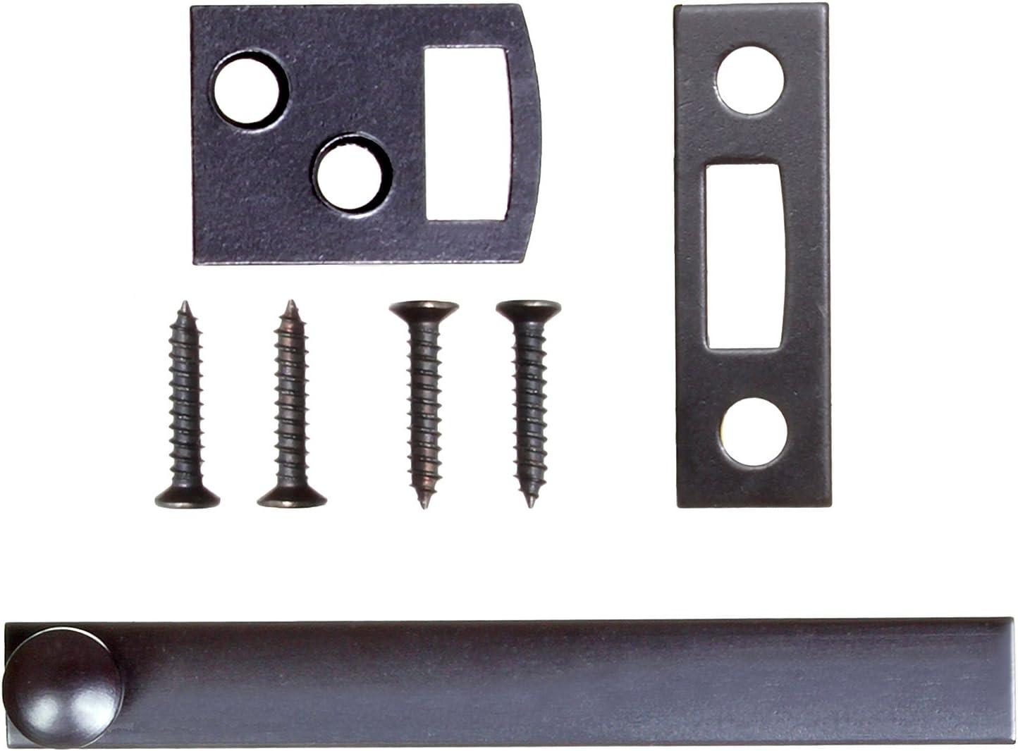 Ram-Pro - Perno de superficie de 7,6 cm - Perno de ventana para puerta de la superficie del hogar perno de la puerta de montaje empotrado duradero perno de la puerta en