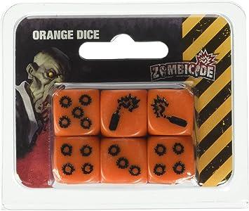 Zombicide - Dados Naranjas: Amazon.es: Juguetes y juegos
