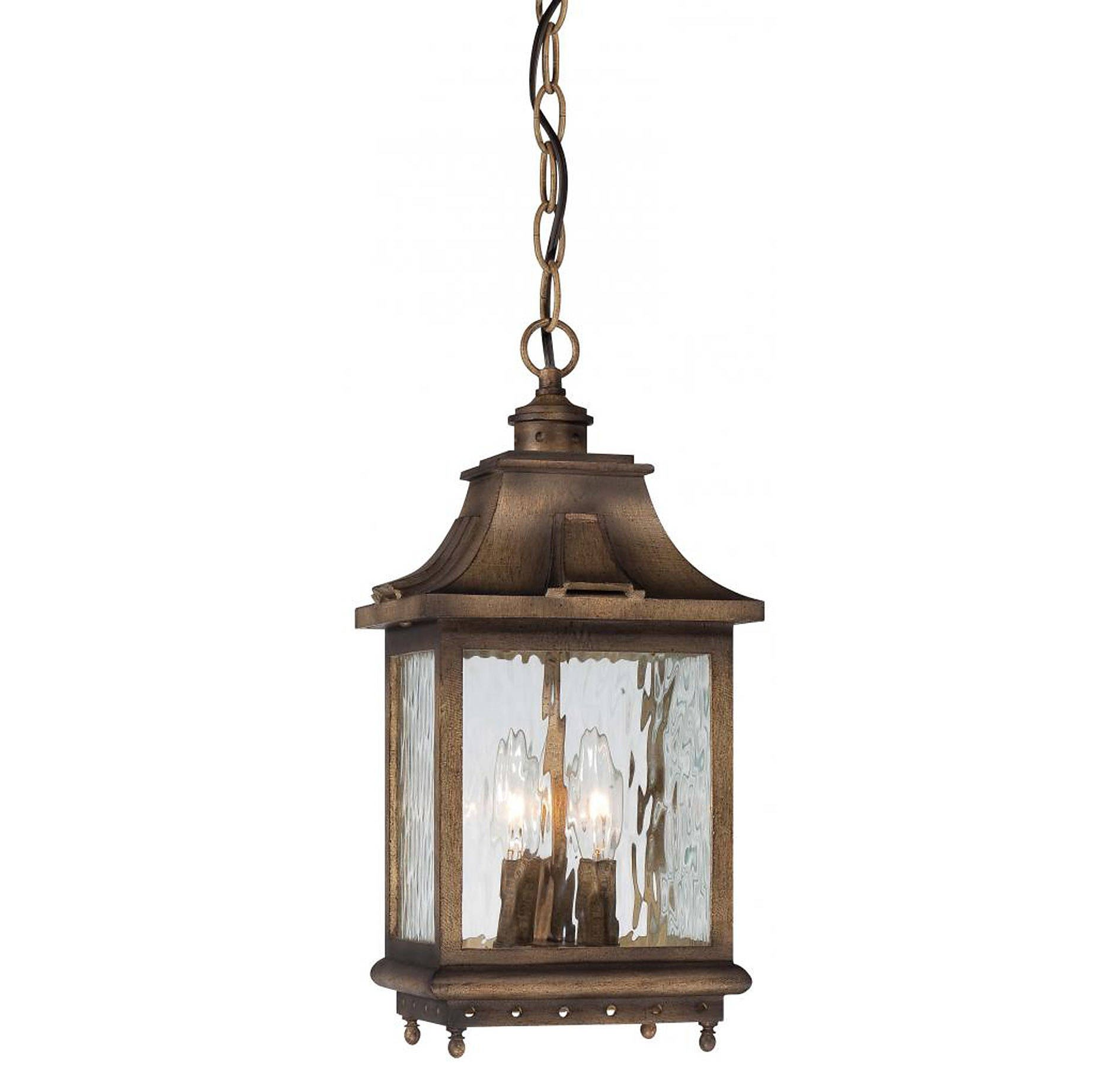 Minka Lavery 72114-149, Wilshire Park Aluminum Outdoor Ceiling Light, 225 Total Watts, Bronze by Minka Lavery