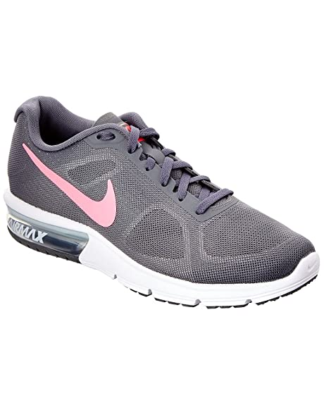 info for 0a3cf 5d1e4 Nike AIR MAX SEQUENT womens running-zapatos 719916-016 6.5 - gris oscuro