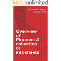 Overview of Finance: A collection of infosheets