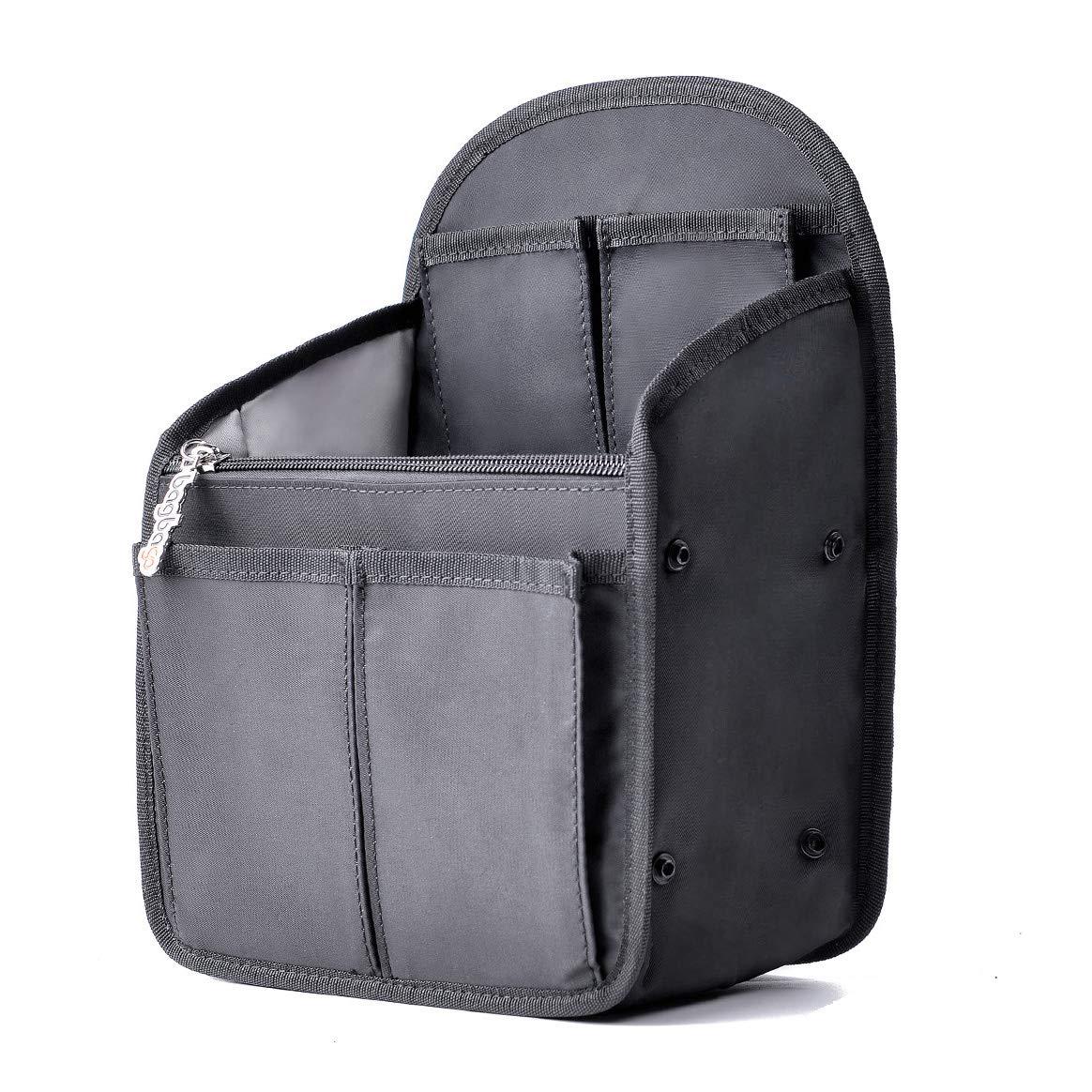 32684fc8dd21 Backpack Organizer bag in bag Shoulders Bag Rucksack Insert fit Mini ...