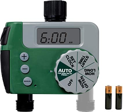 Automatic Garden Tap Irrigation Watering Timer Unit Digital Faucet Controller US