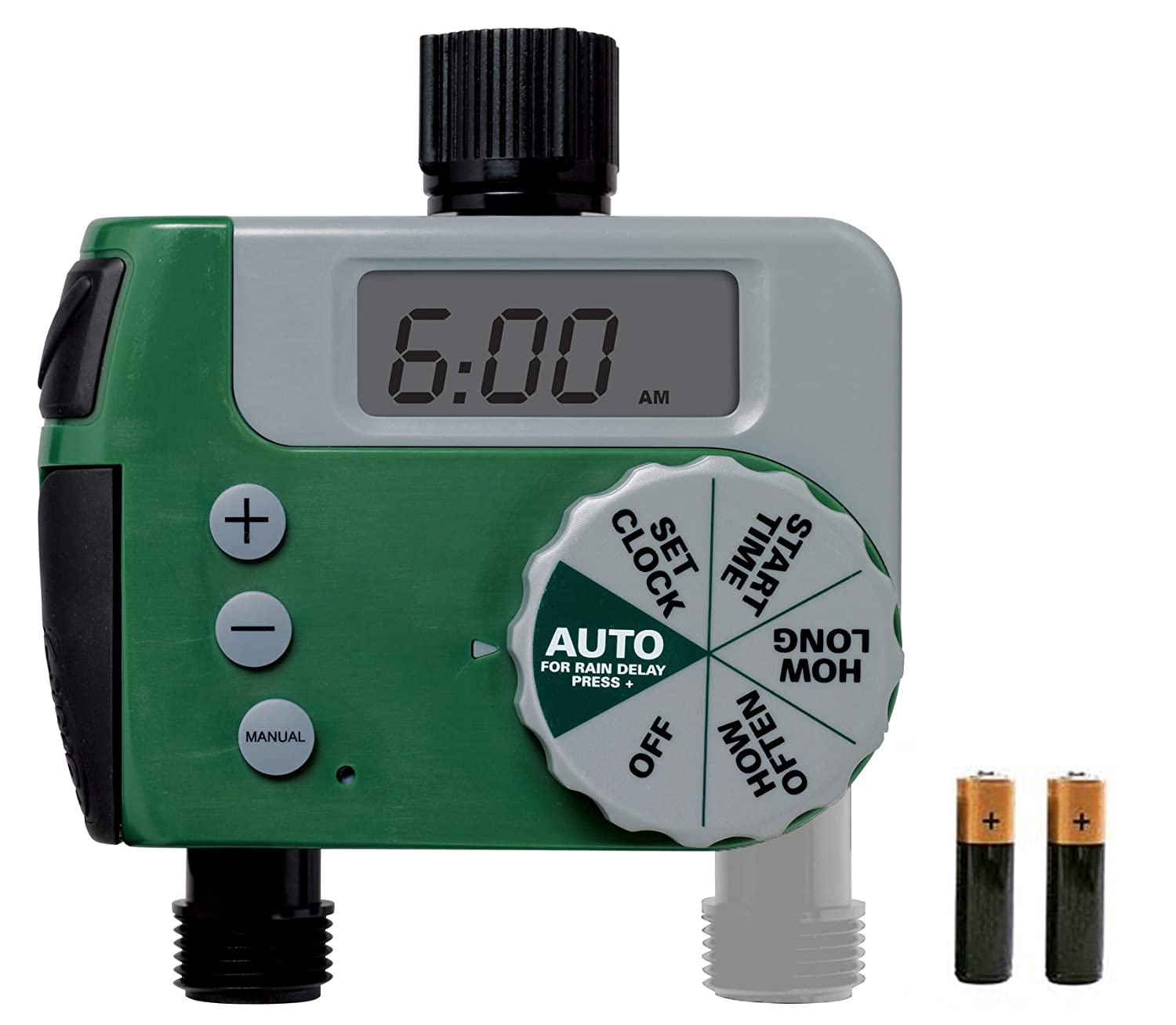 Garden Accessory Irrigation Timer Automatic Digital Eco Series 2 Port