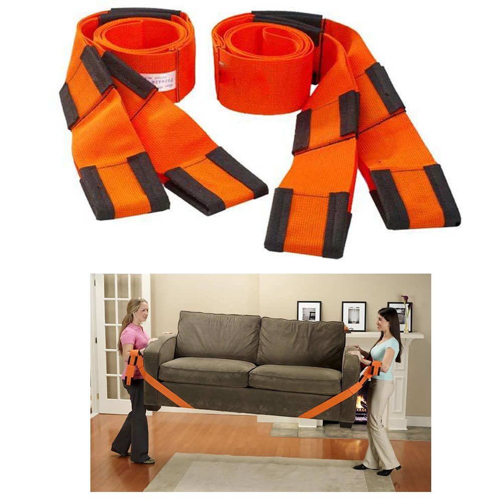 Hebe bandouliè re aide Sangle de portage pour meubles et dé mé nagement ? 2 piè ces Easymove