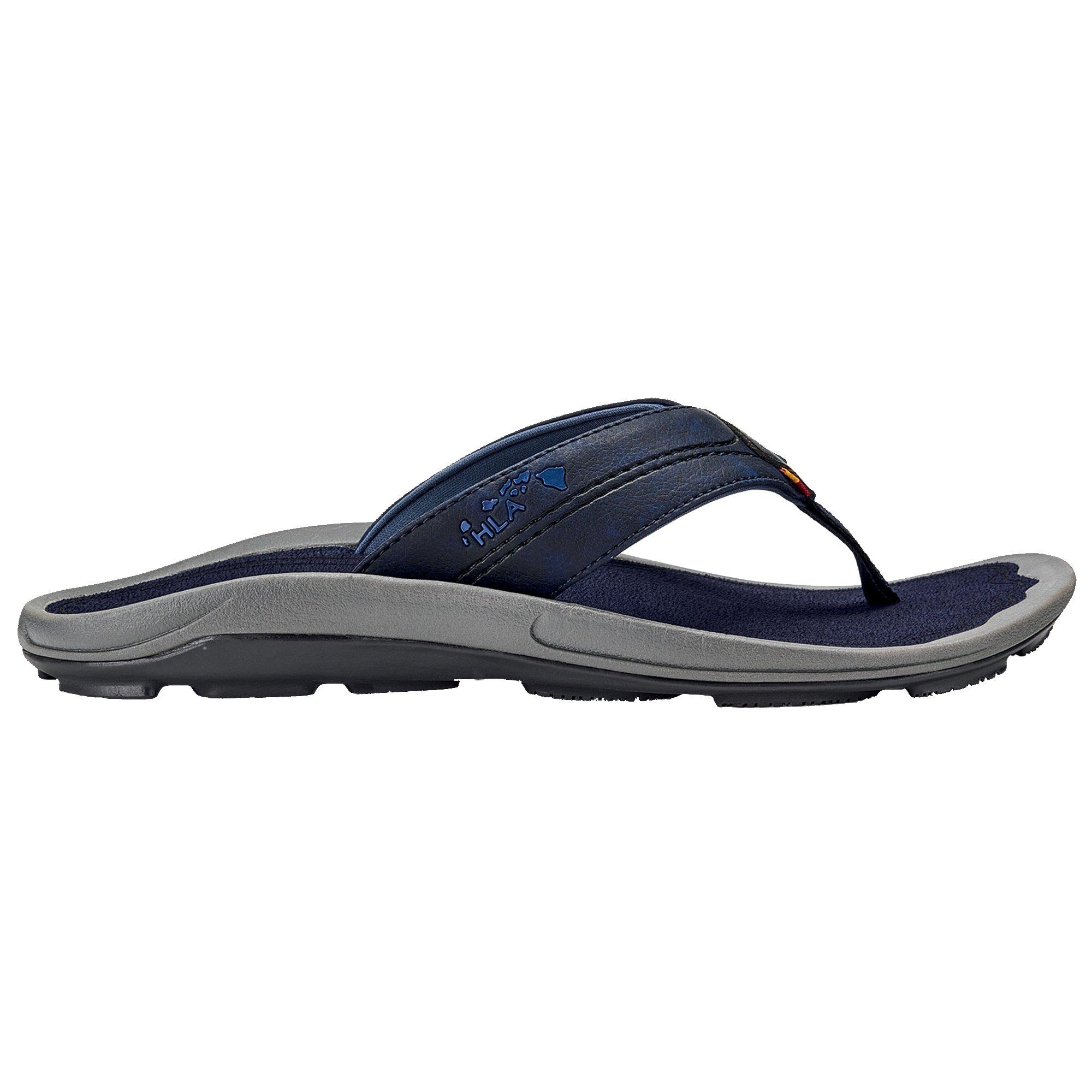 OLUKAI New Oluaki Men's Kipi Flip Flop Trench Blue/Trench Blue 12