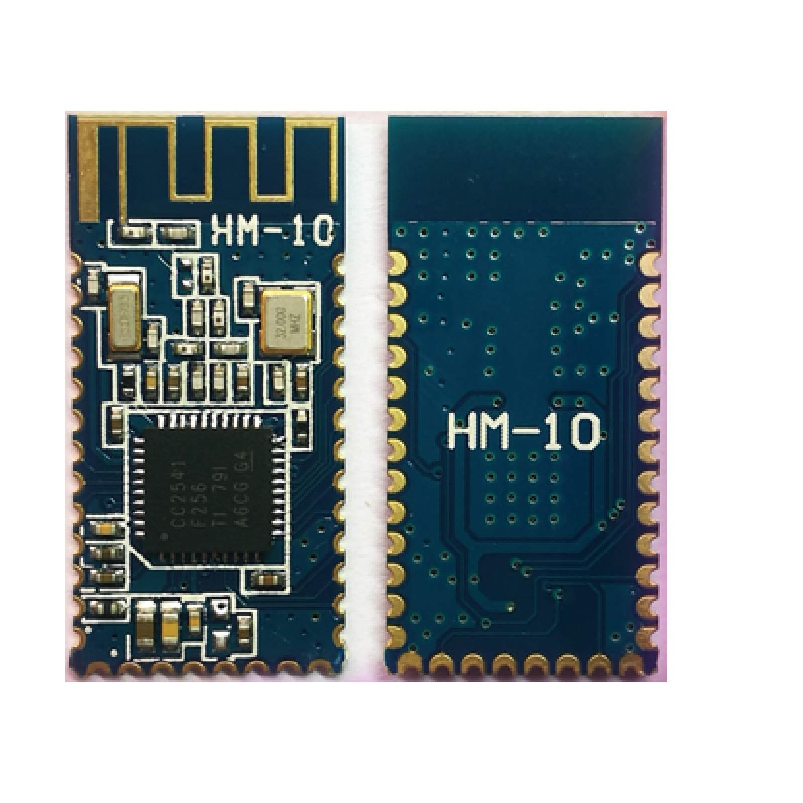 Genuine/Original Huamao BLE Bluetooth 4.0 HM-10 Serial Wireless Module Arduino Android iOS (2 Pieces, HM-10) by Star Mars