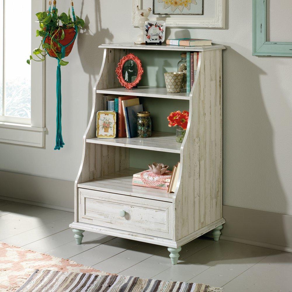 amazoncom sauder 419770 bookcases furniture accent kitchen dining - Distressed Bookshelves