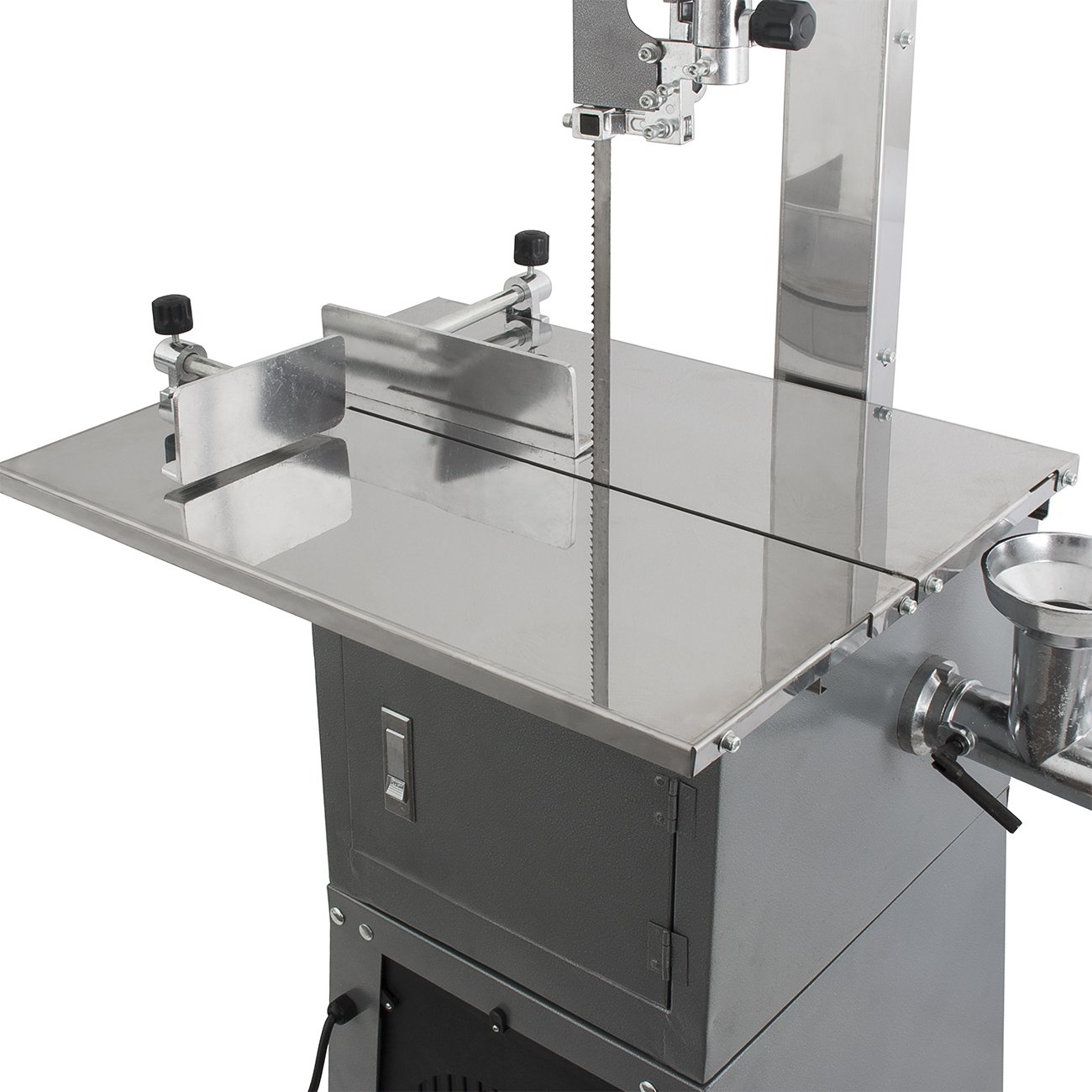 Amazon arksen dual electric meat band saw meat grinder 550w amazon arksen dual electric meat band saw meat grinder 550w 34 hp kitchen dining keyboard keysfo Images