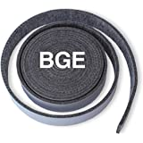 """SMOKEWARE High-Temp Replacement Gasket for Big Green Egg (BGE) - Large, 1/8 -Inches Thick, ⅞"""" Inches Wide, 12' 8"""" Feet, Self-"""