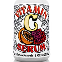 Vitamin C Serum with Hyaluronic Acid for Face and Eyes - Organic Skin Care with...