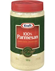 Kraft Grated Parmesan Cheese, 500g Shaker