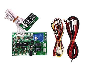JY Electronic JY-141 con Monedero de Control de Tiempo de ...