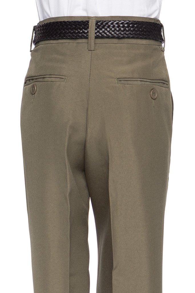 RGM 100% Dacron, Pleated Front, Boys Dress Slacks Navy 18 by RGM (Image #3)