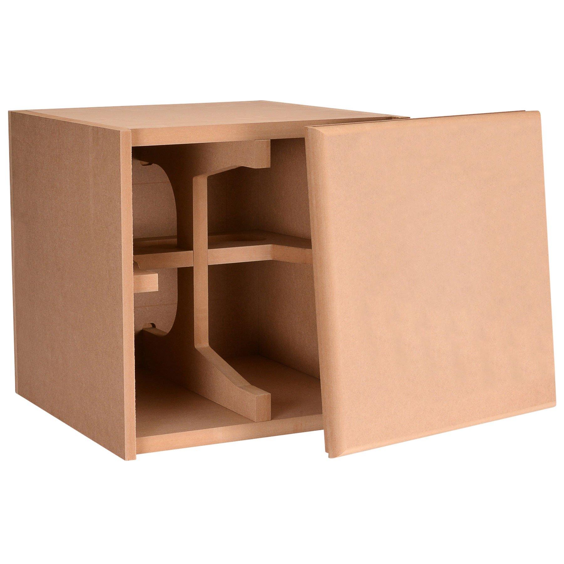 Parts Express Knock-Down MDF 1.0 cu. ft. Subwoofer Cabinet