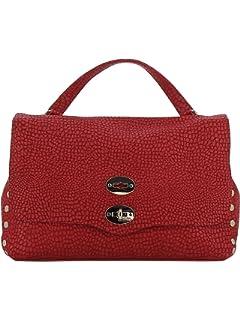 Damen 61343473 Rot Leder Handtaschen Zanellato rHCMnLEWB1