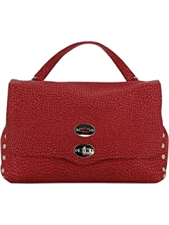 Damen 61343473 Rot Leder Handtaschen Zanellato