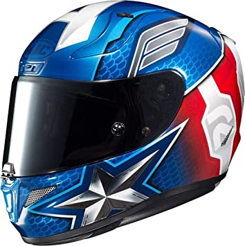 HJC Casco RPHA 11 Captain America Marvel Mc2 L