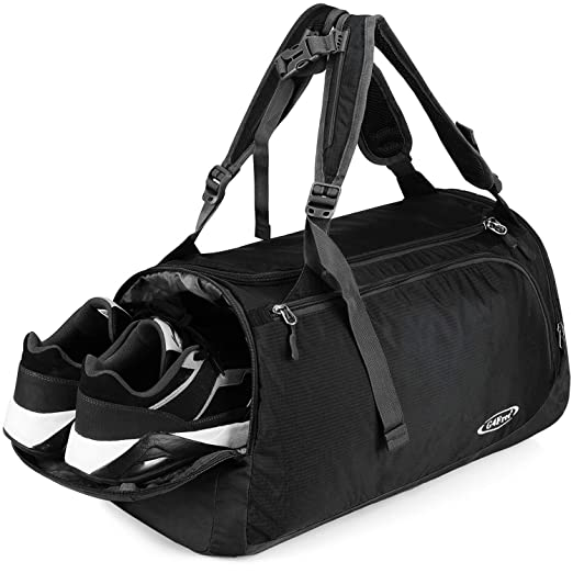 Training Bags Confident Unisex Football Shape Gym Sport Duffel Bag Travel Vacation Home Outdoor For Men And Women Wide Selection; Sports & Entertainment