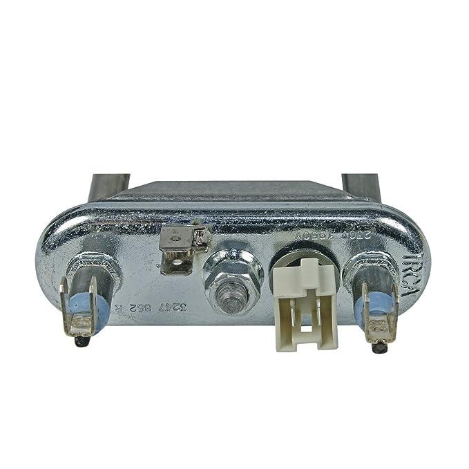 Europart 10018298 Heizelement Heizk/örper Heizstab Waschmaschinenheizstab Waschmaschinenheizung Heizung mit NTC 1950W Waschmaschine passend wie Electrolux AEG 132534700