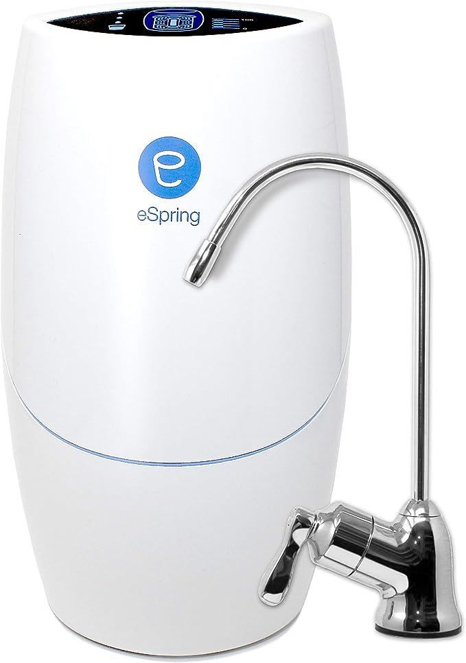 Purificación de Agua eSpring™ con Grifo Auxiliar Completo: Amazon ...